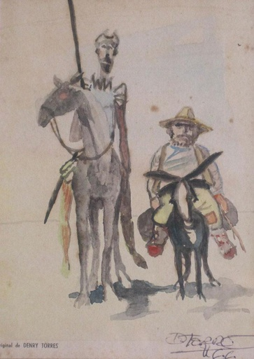 [10896] Don Quijote y Sancho Panza