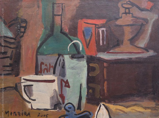 [13031] Still life with mill