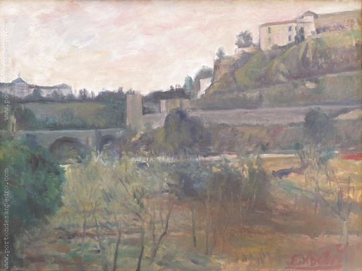 [13086] Landscape with bridge