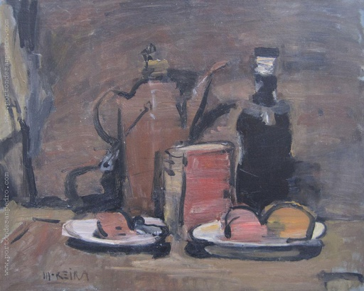 [13713] Still life with coffee pot