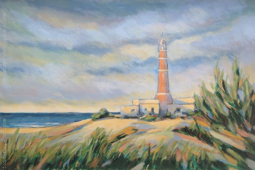 [13836] Landscape with lighthouse